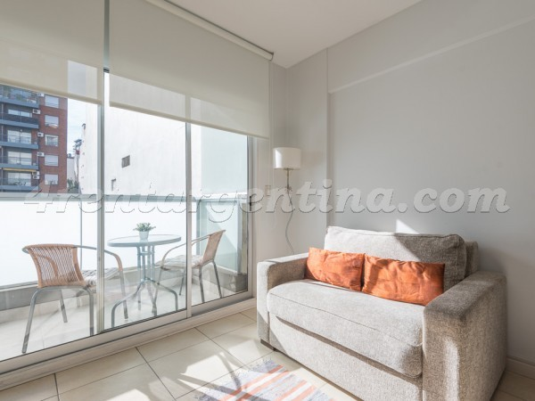 Beruti and Oro: Furnished apartment in Palermo