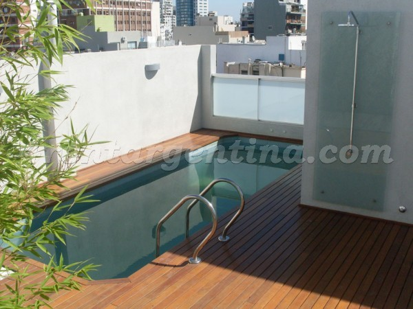 Beruti and Oro: Apartment for rent in Palermo