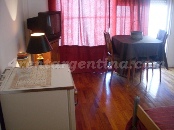 Corrientes and Gascon VI, apartment fully equipped
