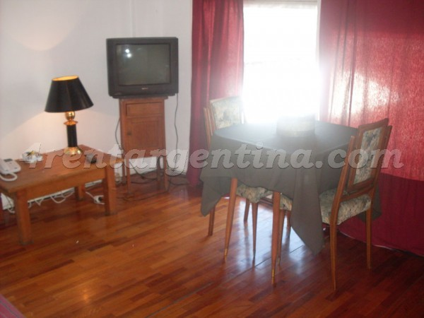 Corrientes and Gascon VI: Apartment for rent in Buenos Aires