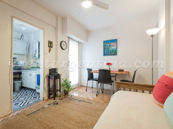 Valentin Gomez and Paso: Furnished apartment in Abasto