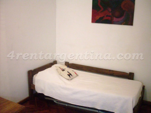 Corrientes and Suipacha III: Furnished apartment in Downtown