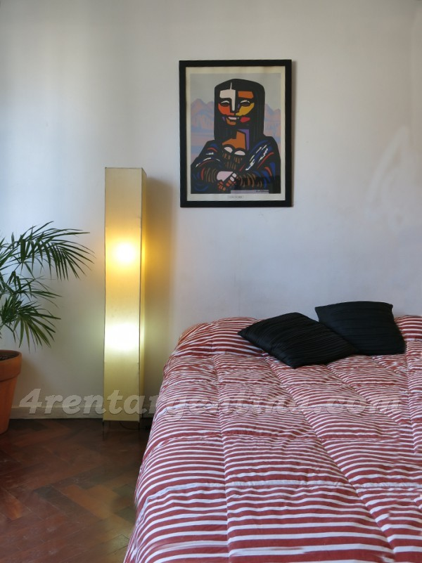 Corrientes and Suipacha II: Furnished apartment in Downtown