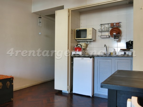 Corrientes and Suipacha II, apartment fully equipped
