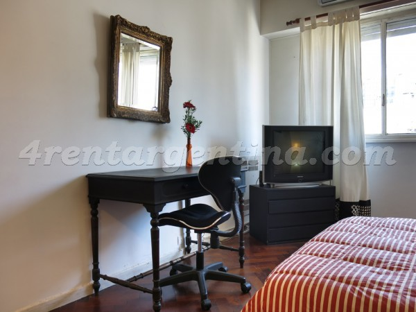 Corrientes and Suipacha II: Apartment for rent in Downtown