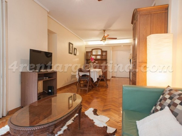Anchorena and Valentin Gomez: Furnished apartment in Abasto
