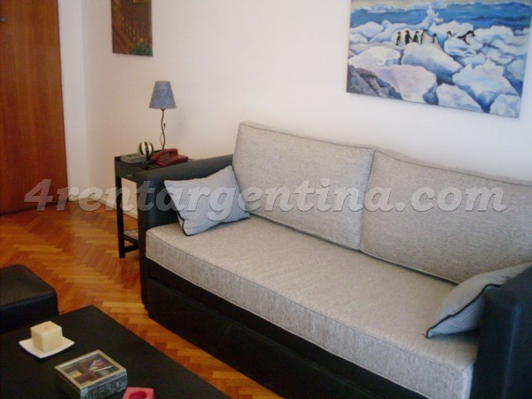 Senillosa and Rivadavia: Furnished apartment in Caballito