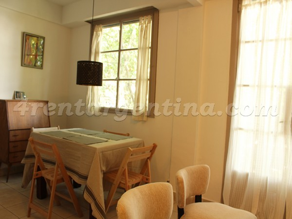 Charcas and Fitz Roy I: Furnished apartment in Palermo