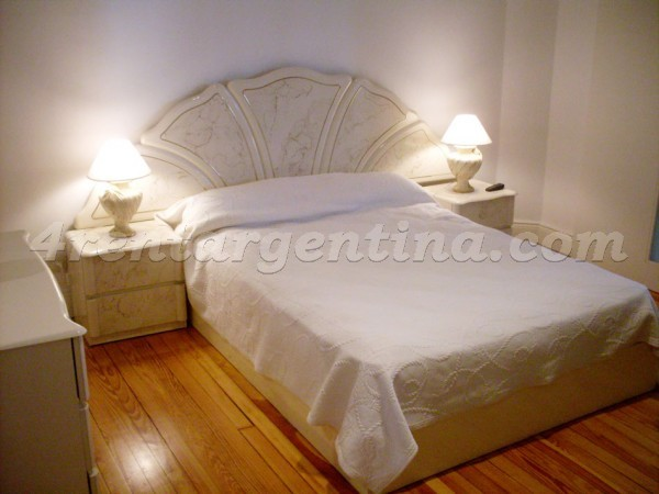 Gurruchaga and Santa Fe: Furnished apartment in Palermo