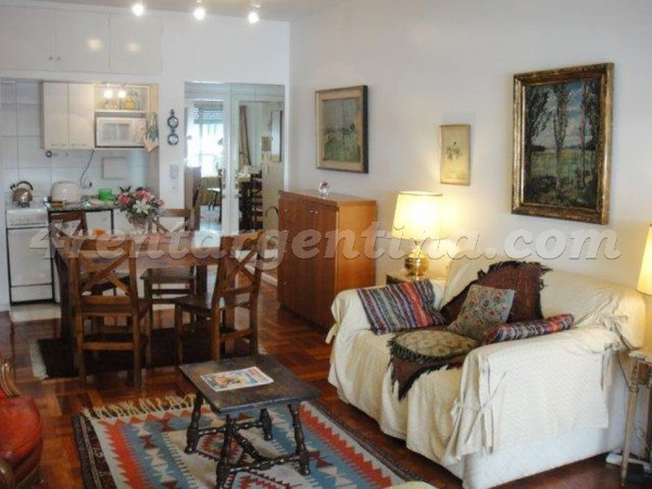 Rodriguez Pe�a et Santa Fe I, apartment fully equipped