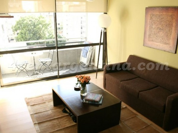 Juncal and Oro I: Apartment for rent in Palermo