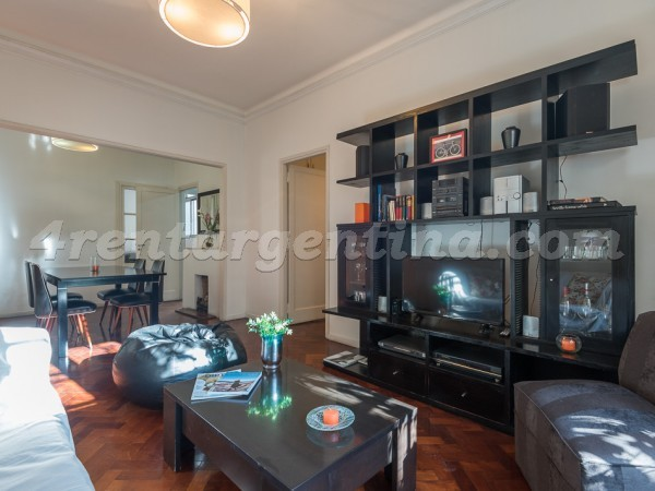 Thames and Paraguay, apartment fully equipped