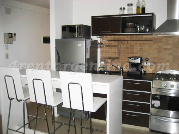 Coronel Diaz et Cabello: Furnished apartment in Palermo
