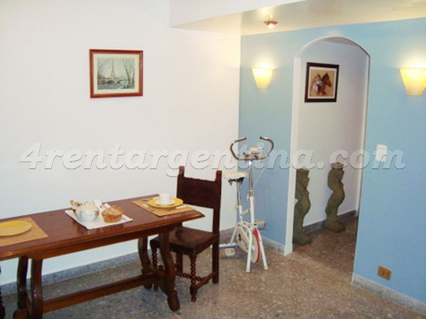 Serrano and Corrientes: Apartment for rent in Palermo