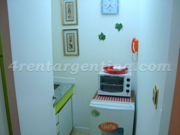 Serrano and Corrientes: Furnished apartment in Palermo