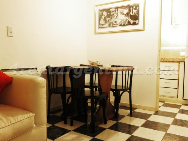 H. Yrigoyen and Piedras I: Furnished apartment in Downtown