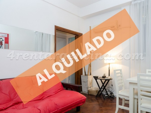 3 de febrero and Federico Lacroze I, apartment fully equipped