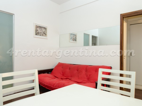 3 de febrero and Federico Lacroze I: Furnished apartment in Belgrano