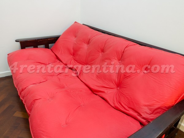 3 de febrero et Federico Lacroze I: Furnished apartment in Belgrano