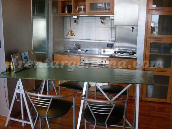 Cramer and Virrey del Pino: Furnished apartment in Belgrano