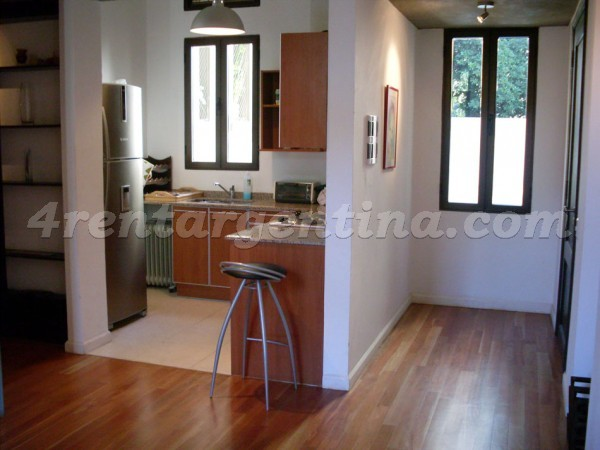 Mendoza and Freire: Furnished apartment in Belgrano