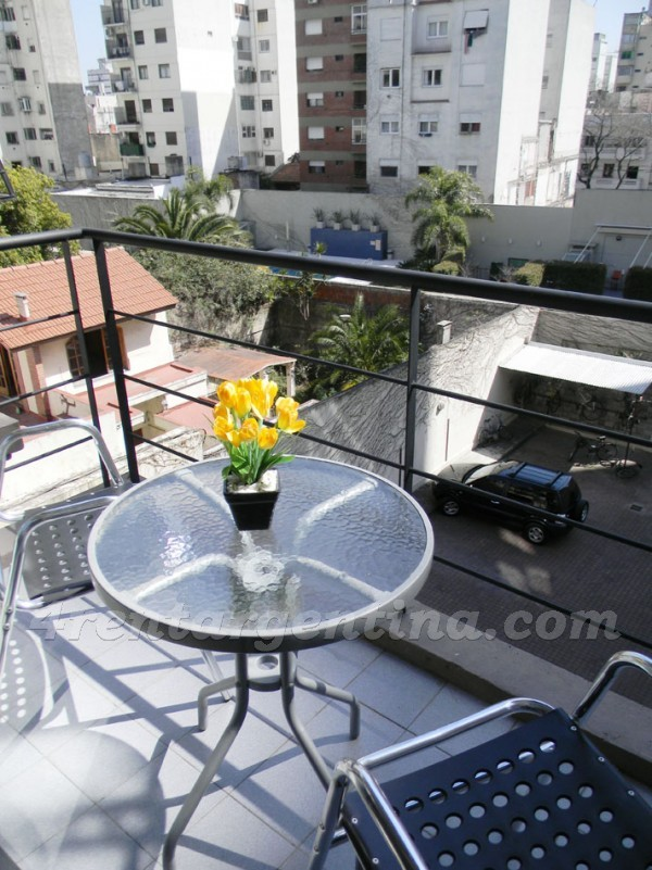 Gurruchaga and Paraguay II: Apartment for rent in Buenos Aires