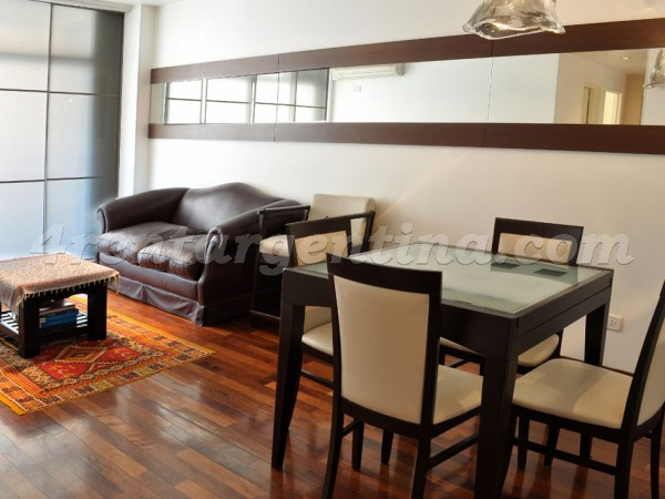 Azcuenaga and Pe�a: Apartment for rent in Recoleta