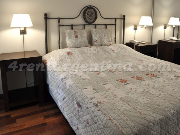 Azcuenaga and Pe�a, apartment fully equipped