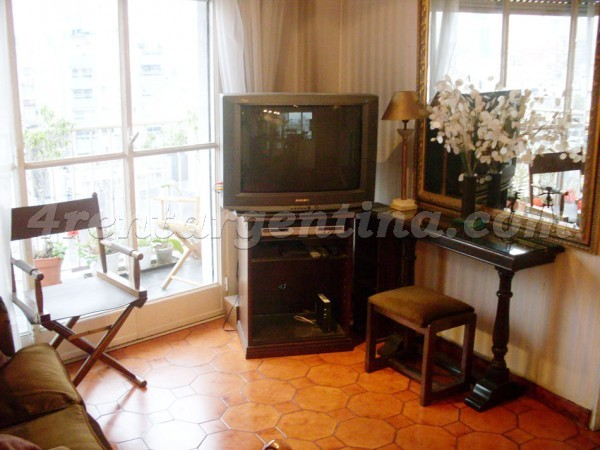 French and Austria IV: Apartment for rent in Recoleta