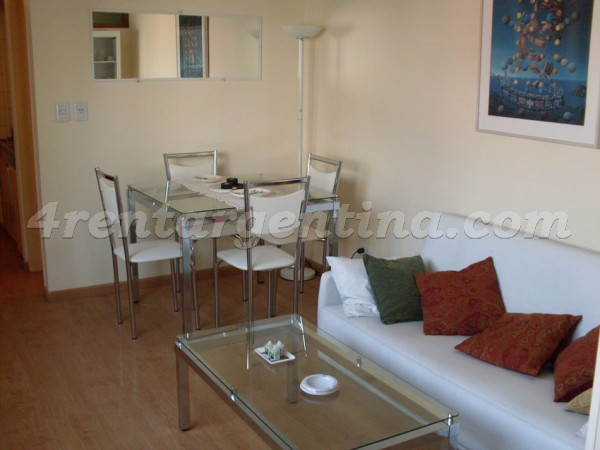 Corrientes and Montevideo II: Furnished apartment in Downtown