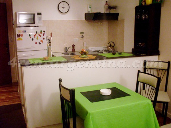 Estados Unidos et Entre Rios, apartment fully equipped