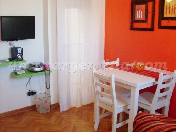 Balcarce and Estados Unidos II, apartment fully equipped