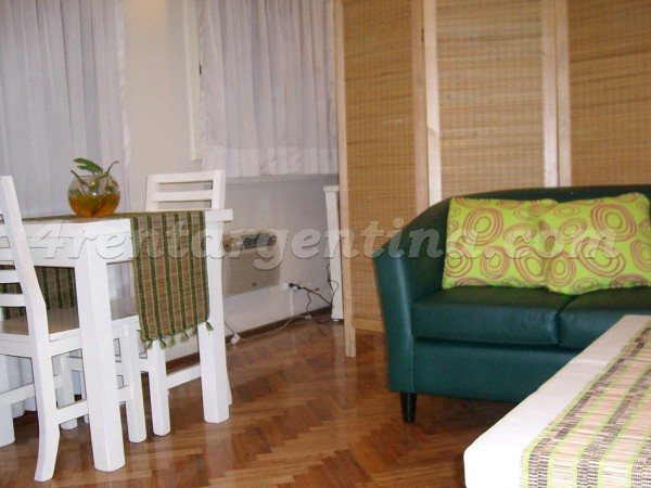 Paseo Colon and San Juan, apartment fully equipped