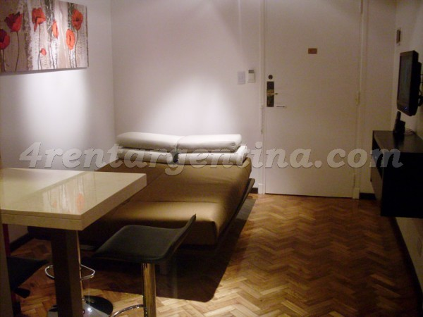 Ugarteche et Cervi�o II: Furnished apartment in Palermo