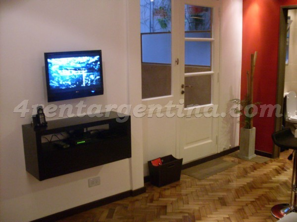 Ugarteche et Cervi�o II, apartment fully equipped