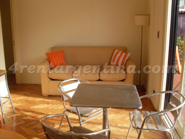 Arenales and Uriburu II, apartment fully equipped