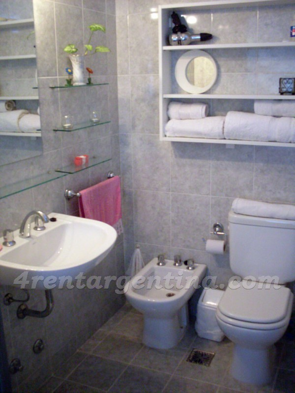Lavalle et Anchorena: Furnished apartment in Abasto