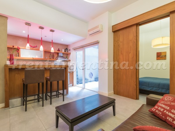 Libertador and Ayacucho II: Furnished apartment in Recoleta