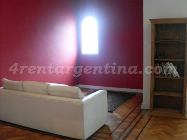 Ayacucho and Rivadavia: Apartment for rent in Congreso