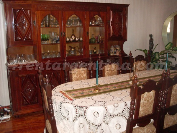 Jaramillo and Amenabar: Furnished apartment in Belgrano