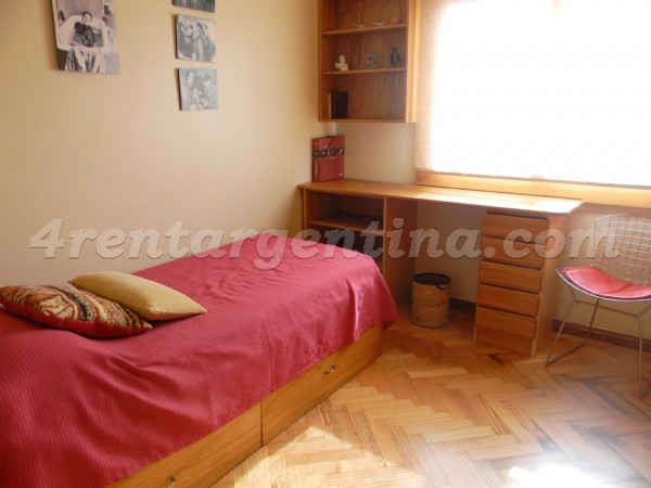 La Pampa and Freire, apartment fully equipped