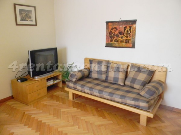 La Pampa and Freire: Furnished apartment in Belgrano