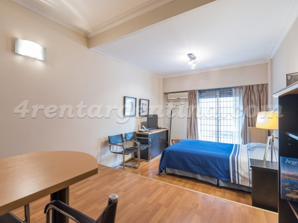 Juncal and Libertad I: Furnished apartment in Recoleta