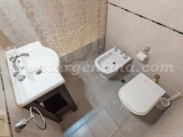 Juncal and Libertad I, apartment fully equipped
