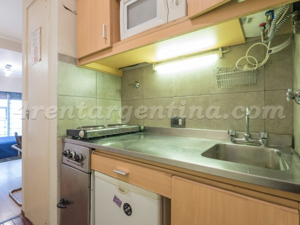 Juncal et Libertad I: Furnished apartment in Recoleta