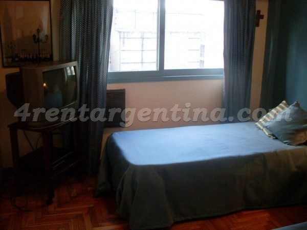 Vicente Lopez and Pueyrredon IX: Furnished apartment in Recoleta