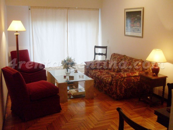 Vicente Lopez and Pueyrredon IX: Apartment for rent in Buenos Aires