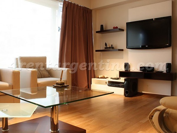 Juncal and Esmeralda I: Furnished apartment in Downtown