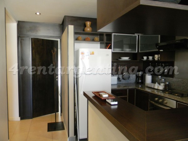 Santa Fe and Ecuador, apartment fully equipped