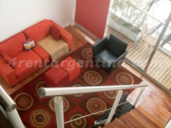 Humboldt and Nicaragua I: Apartment for rent in Buenos Aires